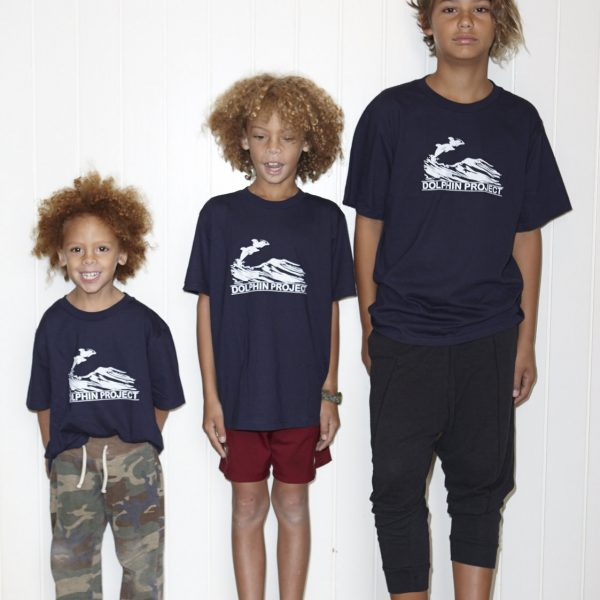 """The Original """"1970"""" Kids Dolphin Project Tee"""