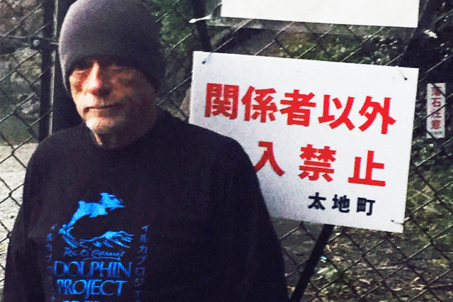 Ric O'Barry, Taiji, Japan