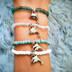 Dolphin Project Bead Bracelets