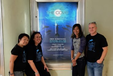 Team Dolphin Project attends 'The Cove' screening in Sacramento