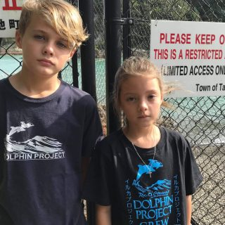 Mini Monitors Return to the Cove, Imogen, Aidan