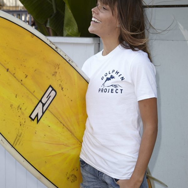 "1973 ""Classic"" Dolphin Project Logo Tee"