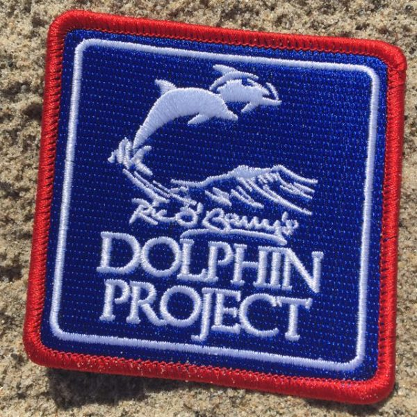 Square Dolphin Project Logo Patch