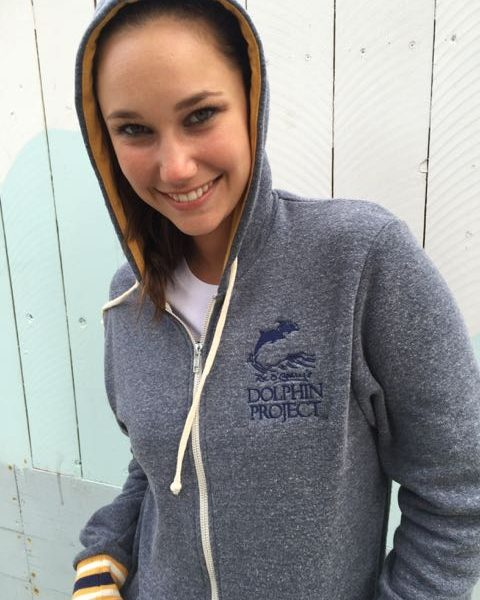 Women's Dolphin Project Logo Woody Hoodie