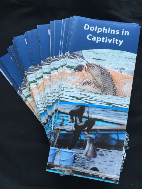 Trifold Anti Captivity Brochure