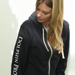 7f92600016a1b Unisex Dolphin Project Thanks but No Tanks Hoodie