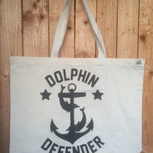 Dolphin Defender Tote Bag Charity Dolphin Project