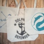 Tote Bags Dolphin Project Charity