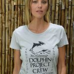 WOMEN'S DOLPHIN PROJECT CREW PLATINUM TEE