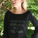 WOMEN'S SWIM WITH MERMAIDS SWEATSHIRT 1