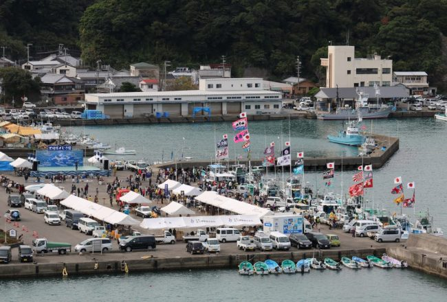 Taiji's annual whaling festival, Japan.