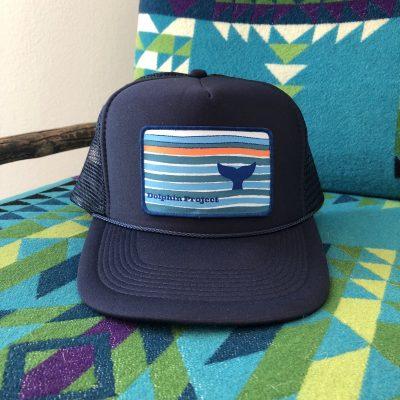 Navy Hat Whale Fluke 3