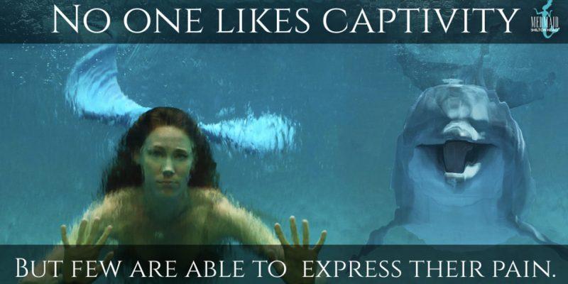Mermaid Against Captivity