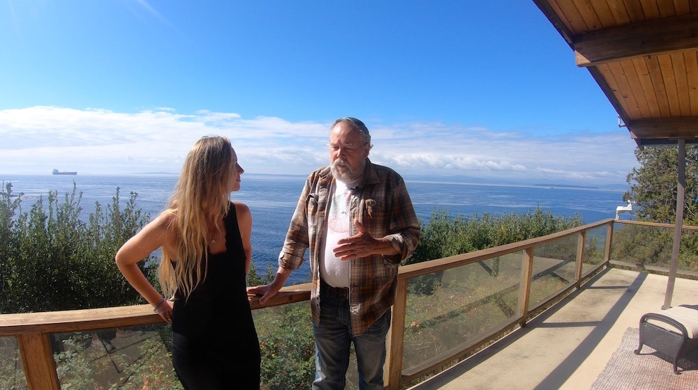 Alexandra Johnston interviews Ken Balcomb, Center for Whale Research.