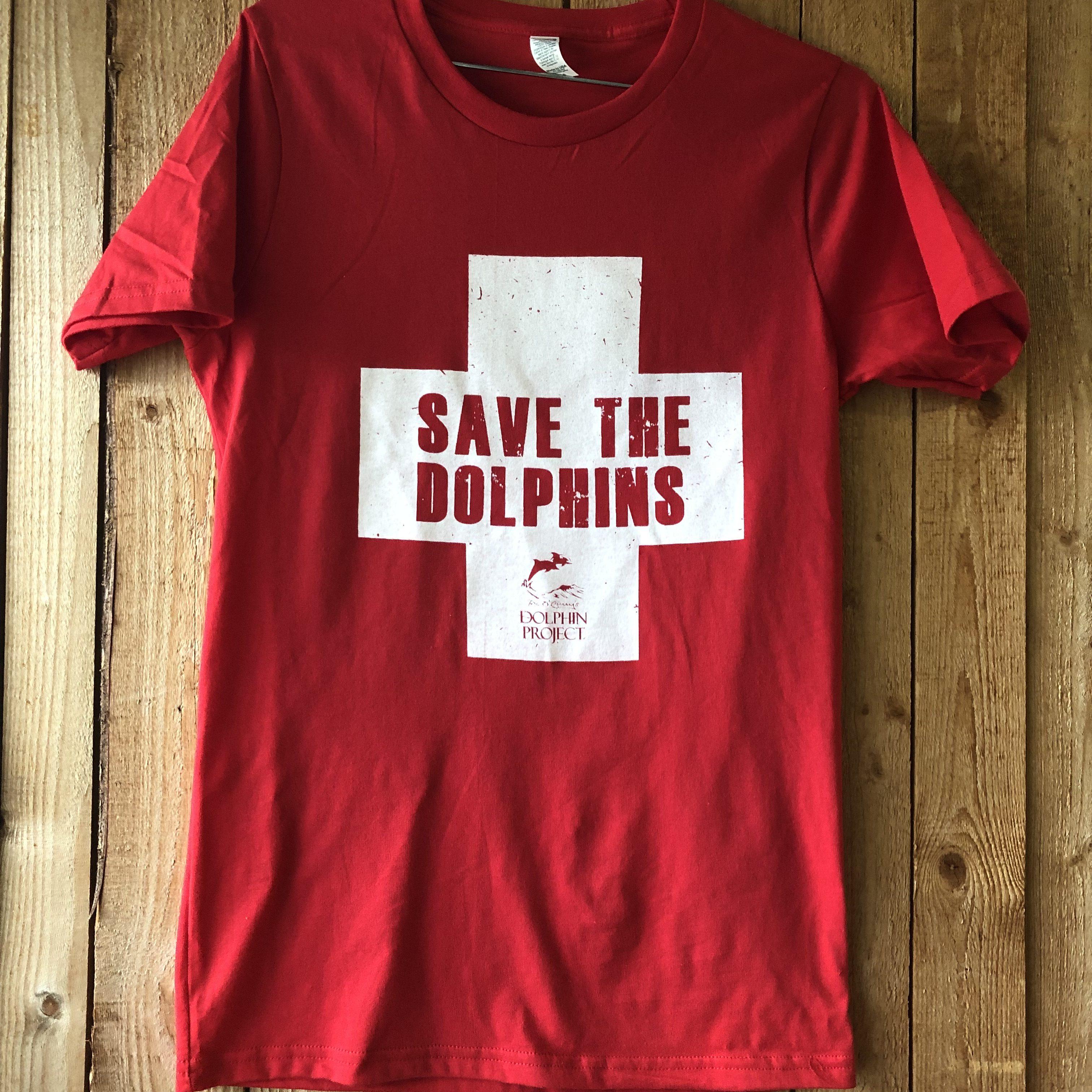 Save The Dolphins Unisex Lifeguard Tee  e7cba390a