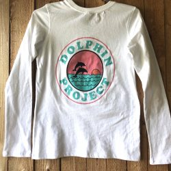 Dolphin Project Retro Long Sleeve Back
