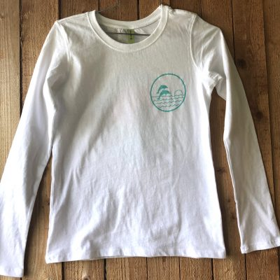 Dolphin Project Retro Long Sleeve Front