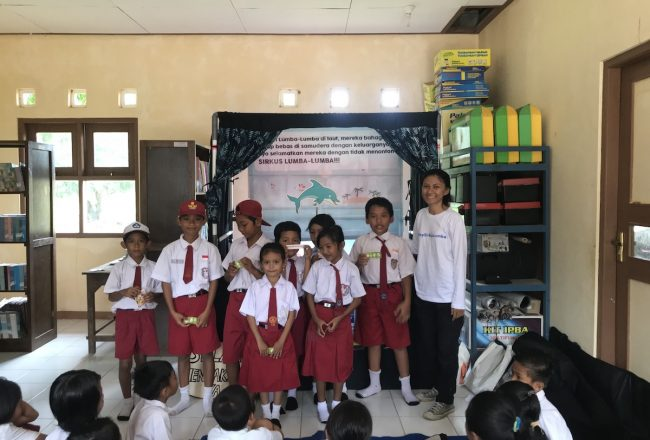 Kids in Karimun Jawa learn the importance of marine education