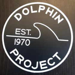 Dolphin Project EST 1970 Decal