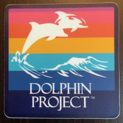 Dolphin Project Rainbow decal