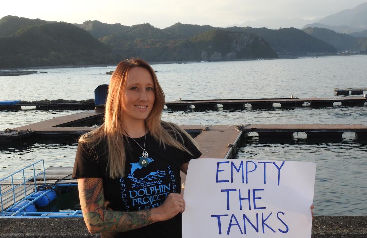 Rachel Carbary, Empty the Tanks!