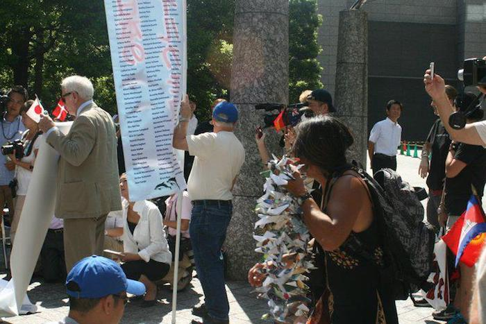 2010 Petition Delivery US Embassy Tokyo Dolphin Project Protests Taiji Dolphin Hunt