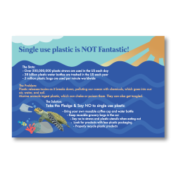 Ocean Clean Up Postcards Front