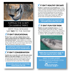 Anti Captivity Rack Cards