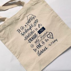 Dolphin Project Birthright Quote Tote