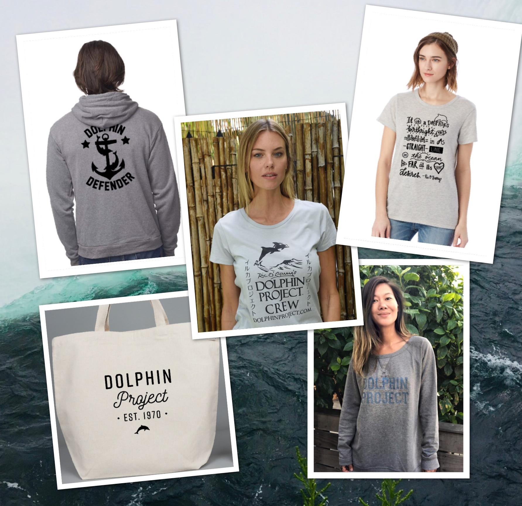 Shop Dolphin Project authentic gear
