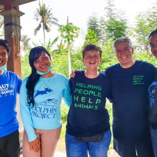 Our team working with Bali Pet Crusaders to help sterilize domestic animals, Bali Indonesia
