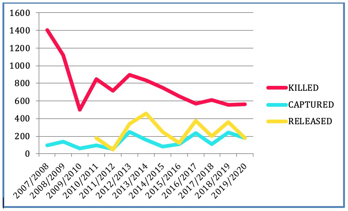 Taiji's Drive Season Statistics, 2007-2020