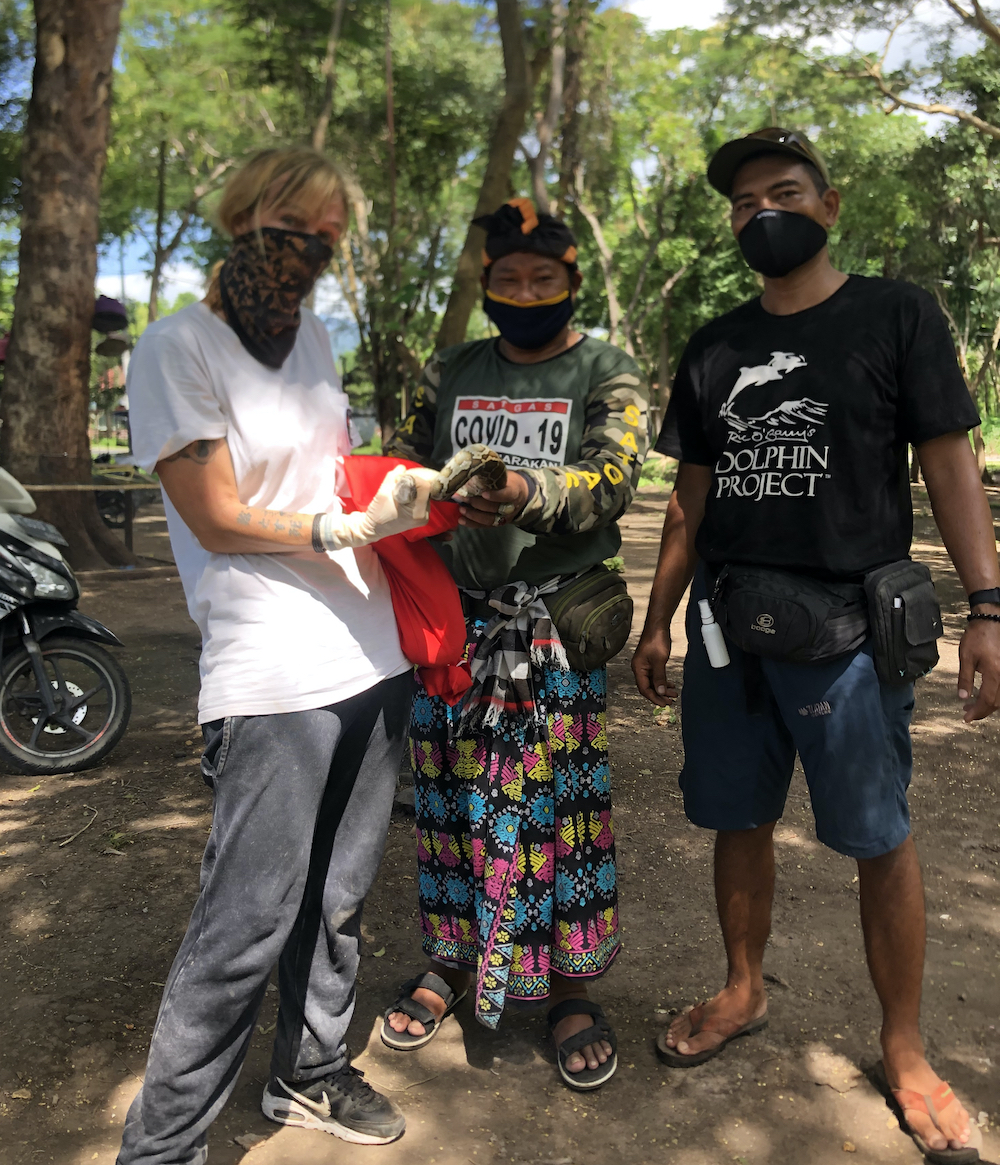 Dolphin Project Aids Local Villagers | Dolphin Project